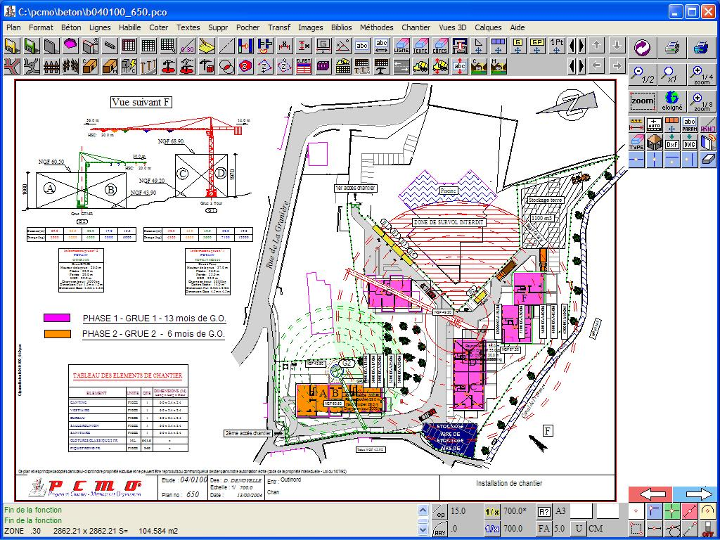 progiciel de chantier methodes et organisation